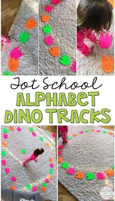 Dinosaur Theme Preschool, Dinosaur Activities, Gross Motor Activities, Movement Activities, Alphabet Activities, Toddler Activities, Preschool Activities, April Preschool, Dinosaur Dinosaur