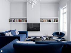 Salon - mieszkanie w kamienicy - zdjęcie od Houselab - Projektowanie Wnętrz - Salon - Styl Eklektyczny - Houselab - Projektowanie Wnętrz