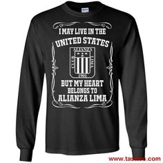 8eecb1d8 Buy Alianza Lima Shirts May Live In United States But Heart Belongs To Shirt  Llamas With