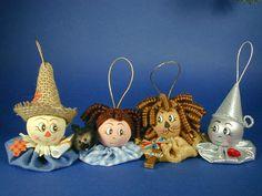 Oz Scarecrow Ornament