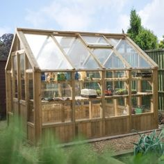 Buy Vale Wooden Greenhouses by Forest Garden — The Worm that Turned - revitalising your outdoor space Greenhouses For Sale, Victorian Greenhouses, Wooden Greenhouses, Tongue And Groove Cladding, Polycarbonate Greenhouse, Roof Window, Forest Garden, Diy Greenhouse, Ideas