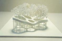 Architectural Model | Gramazio  Kohler  Belvédère Infini, Genève, 2011
