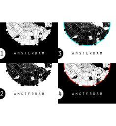 Amsterdam Map Netherlands Map World Map Maps Black And White Map Holland Map Minimal Map Black Map White Map Minimalist Map Prints Wall Poster Digital Design Illustration Digital Art