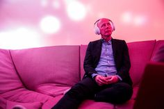 REDUCING STRESS in the workplace Secluded pods that allow office workers to meditate, smash things or scream will be commonplace in two years time says UNStudio founder Ben van Berkel. Trump Wall, Workplace Design, Design Competitions, Dezeen, Co Founder, Reduce Stress, Meditation, That Look, Interview