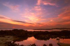 Orange- by Gilbert  Bara / Photographer on 500pxFuerteventura Sunset Laguna de Cotillo  www.rentlajares.com