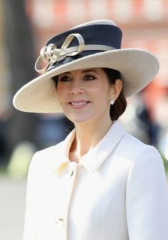Crown Princess Mary of Denmark. This woman's grace just blows me away.
