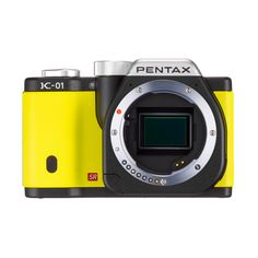 Body Kit Yellow & Case  by PENTAX