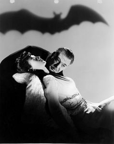 Lon Chaney Jr. andLouise Allbritton, in Son of Dracula (1943)