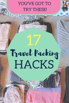 I am very type-A when it comes to packing. I must have things SO organized and always want to have lots of room to shop, so I never over pack. I have gotten pretty good at packing and wanted to share my travel packing hacks with you!