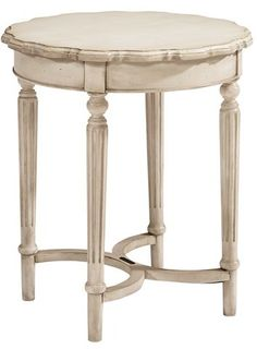 Magnolia Home Antiqued Wooden Side Table