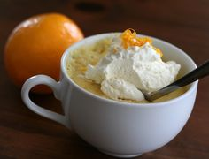 Low Carb Meyer Lemon Mug Cake @dreamaboutfood