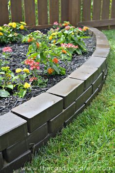 how to build a rock border