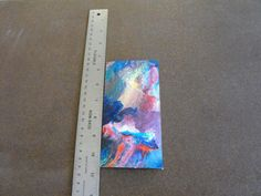 One Small Piece Cut From Abstract Expressionism Watercolor - C8 #Expressionism