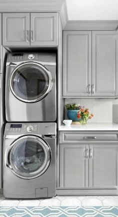 """Fantastic """"laundry room stackable washer and dryer"""" detail is available on our internet site. Read more and you wont be sorry you did. Laundry Room Layouts, Laundry Room Remodel, Small Laundry Rooms, Laundry Closet, Laundry Room Organization, Laundry Room Design, Laundry In Bathroom, Laundry Room Ideas Stacked, Laundry Room With Storage"""