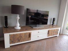 Steigerhout TV-meubel Freya - Steigerhout Furniture | Unieke steigerhouten meubelen & tuinmeubelen op maat gemaakt!