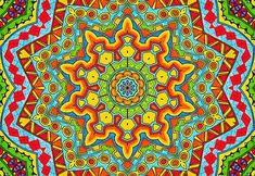 Beautiful Mandalas are all around us. Look for them in nature, in flowers, fruits....