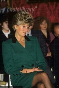October 1991: Princess Diana at the Launch of the Department of Transport's Child Safety Campaign, Lancaster House..