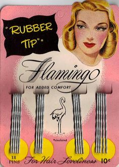 Early 1940s bobby pins