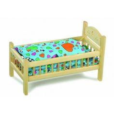 Lettino per le Bambole da Legler Dolls bed from Legler
