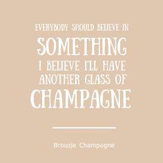#Champagne, yes please! Voor meer informatie over champagne: kijk op onze website! http://www.brouzje.nl #quote