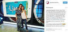 La presentadora de Likes, Raquel Sánchez Silva, con total look Lebor Gabala SS2017.
