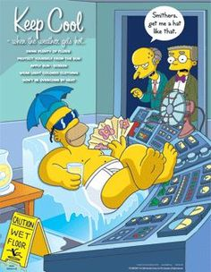 The Simpsons Photo: funny homer Health And Safety Poster, Safety Posters, Safety Quotes, Simpsons Cartoon, Cartoon Tv, Safety Fail, Safety Tips, Running Cartoon, Postural