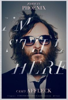 I'm Still Here — ace typography on the poster for this mockumentary by Casey Affleck and Joaquin Phoenix Casey Affleck, Joaquin Phoenix, Web Design, Design Page, Cover Design, Type Design, Design Files, Layout Design, Print Design