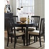 Captiva Round Dining Room Furniture Collection  Want this for my dining room