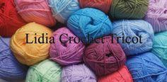 Vous trouverez dans ce site des tutoriels crochet, tricot, tricoter avec ses…