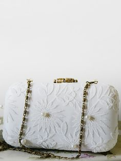 Pearly White Lace Box Clutch www.goo.gl/u6SSBo #clutchmehoney #clutch #weddingaccessories #weddingpurse #clutchpurse #bridalfashion #bridalstyle #bride #wedding #bridalfashion #engaged #style #weddingideas #weddingclutchbag #bridesmaidsclutch #bridalclutch #bridalfashion #luxurywedding