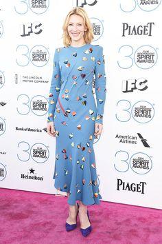 Cate Blanchett in fun Schiaparelli Couture