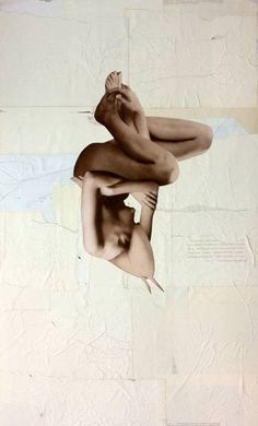 "Saatchi Art Artist Kerstin Stephan; Collage, ""in twos"" #art"