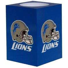 NFL Detroit Lions Square Flameless Candle *** Continue to the product at the image link.