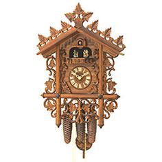 Antique replica clock 8-day-movement 40cm by Rombach & Haas