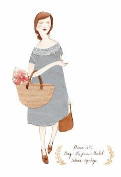 Milenuts™ | lovely illustration