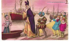 Sint en Piet gaan weer naar Spanje met de stoomboot!