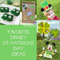 Favorite Disney St. Patrick's Day Ideas #stpatricksday #disney