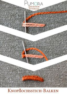 Der Knopflochbalken/einfacher Steg