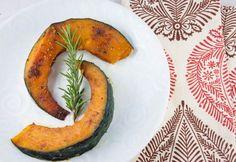 Curry-Roasted Kabocha Squash with Rosemary