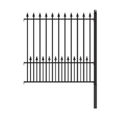 6 Elegant Cool Tips: Modern Fence Look Garden Fence Using Pallets.Garden Fence Installation Modern Fence Look. Iron Fence Panels, Steel Fence Panels, Garden Fence Panels, Front Yard Fence, Metal Fence, Driveway Fence, Fence Gates, Fence Plants, Stone Fence