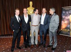 Demián Bichir (love him), Brad Pitt, George Clooney, Jean Dujardin and Gary Oldman