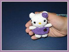 Ravelry: Little Hello Kitty Amigurumi pattern by Ana Artedetei