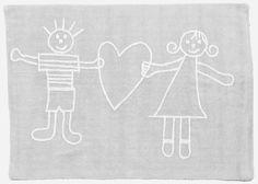 Vintage Waschbarer Teppich f r das Kinderzimmer aus reiner Baumwolle Traumhafter Kinderzimmerteppich der spanischen Firma Lorena Canals aus