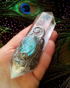 Luna Blue's Silver Filigree Crystal Energy by LunaBlueBoutique, $118.00