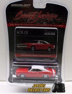 1:64 Greenlight Barrett-Jackson Series 1 * 1970 DODGE HEMI CHARGER R/T #Greenlight #Dodge