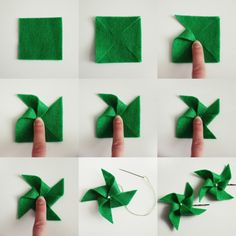 SOMETHiNG MONUMENTAL: How to Make Felt Pinwheels