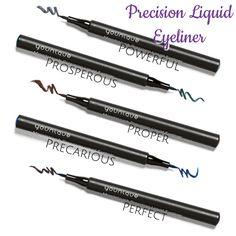 Younique Precision Liquid Eyeliner www.youniqueproducts.com/donnasalas