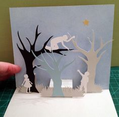 Star collection 3 pop-up card (patterned after card on https://littlegreenbox.wordpress.com/category/pop-up-2/page/5/)