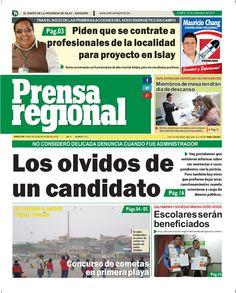 Prensa regional Lunes 22 de setiembre