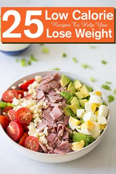 Low calorie food recipes not just keep from adding additional calories but they also help in burning out the fat that is already accumulated. Salad Recipes, Diet Recipes, Healthy Recipes, Cooking Recipes, Delicious Recipes, No Calorie Foods, Low Calorie Recipes, Low Calorie Pasta, Diet Foods